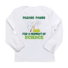 Please Pause Long Sleeve Infant T-Shirt
