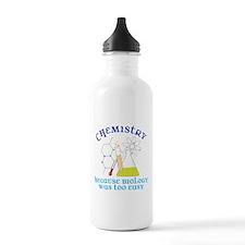 Biology Was Too Easy Water Bottle