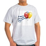 Balloons! Ash Grey T-Shirt