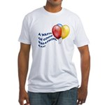 Balloons! Fitted T-Shirt