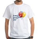 Balloons! White T-Shirt