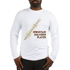 Mountain Dulcimer Player Long Sleeve T-Shirt