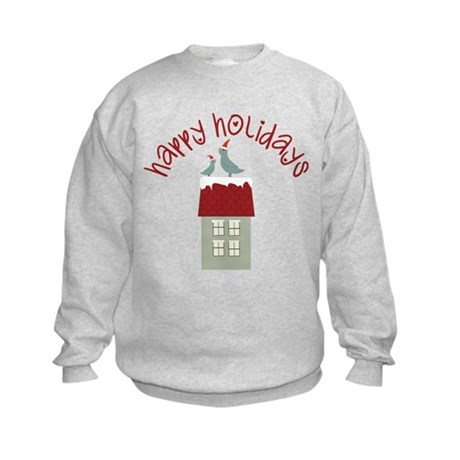 Happy Holidays Kids Sweatshirt