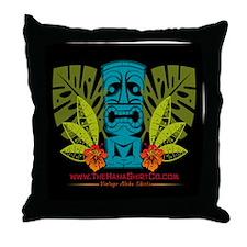 Hana Shirt Co. Tiki style Throw Pillow