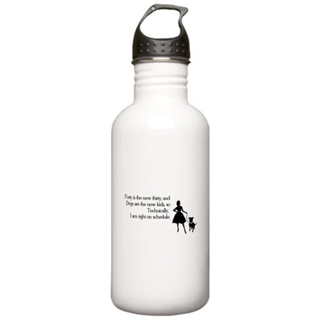 Right On Schedule Stainless Water Bottle 1.0L
