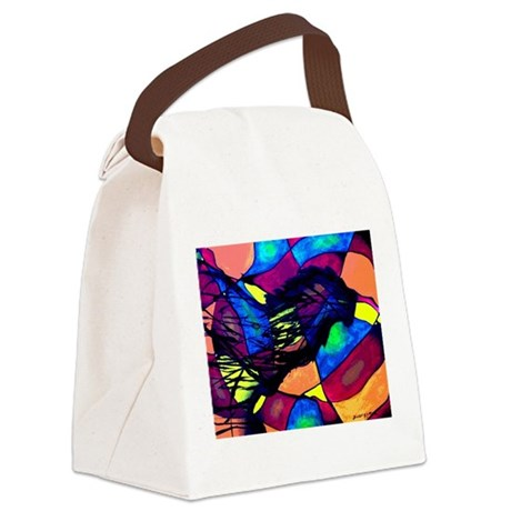 Spirit of the Lion Canvas Lunch Bag