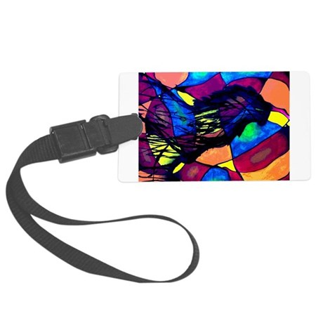 Spirit of the Lion Large Luggage Tag