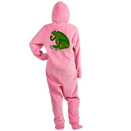 frog6.png Footed Pajamas