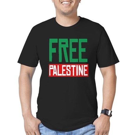 Free Palestine ????? ?????? Men's Fitted T-Shirt (