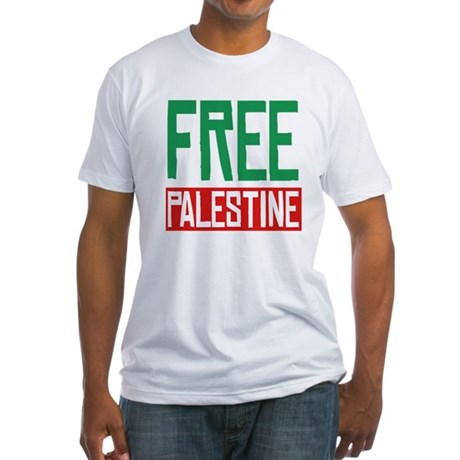 Free Palestine ????? ?????? Fitted T-Shirt