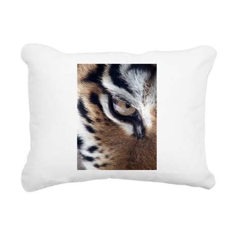 tigereye.jpg Rectangular Canvas Pillow