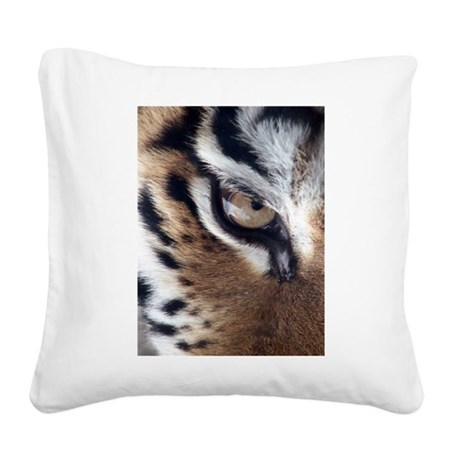 tigereye.jpg Square Canvas Pillow