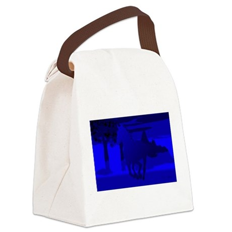 horse4.jpg Canvas Lunch Bag