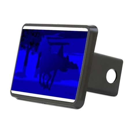 horse4.jpg Rectangular Hitch Cover