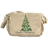 Deck The Halls Messenger Bag