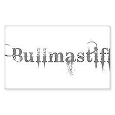 Bullmastiff Decal