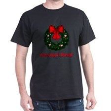 Merry Christmas Wreath T-Shirt