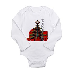 Sheng Dan Kuai Le Long Sleeve Infant Bodysuit