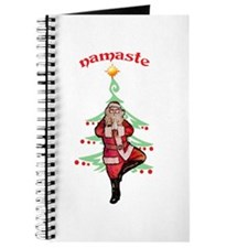 Santa Tree Pose Journal