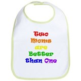 Two Moms Bib