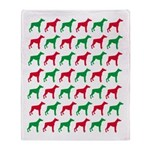 Doberman Pinscher Christmas or Holiday Silhouette