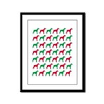Doberman Pinscher Christmas or Holiday Silhouettes