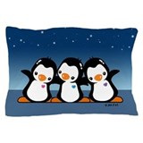 Penguins (together) Pillow Case