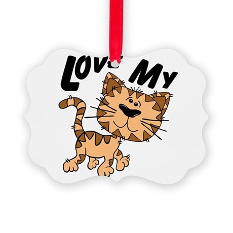 lovecat.png Picture Ornament