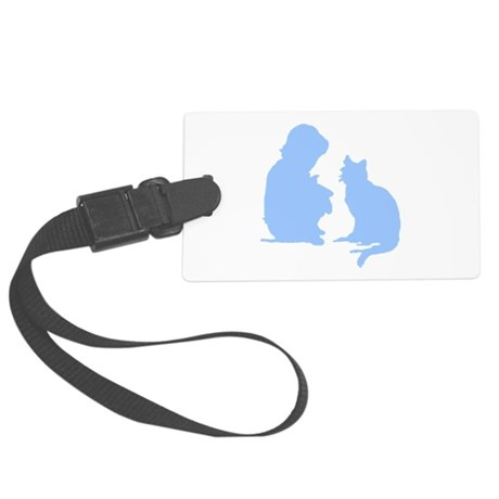 catnchild2a.png Large Luggage Tag