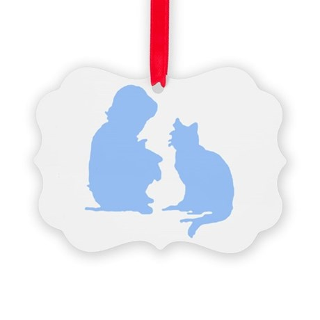 catnchild2a.png Picture Ornament