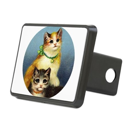 Cute Kittens Rectangular Hitch Cover