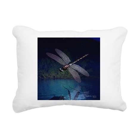 dragonfly10asq.jpg Rectangular Canvas Pillow