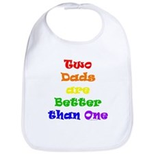 Two Dads Bib