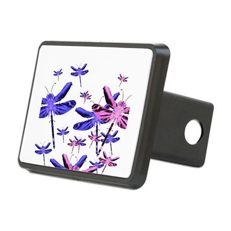 dragonfly4d.png Rectangular Hitch Cover