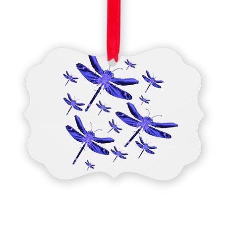 dragonfly4b.png Picture Ornament