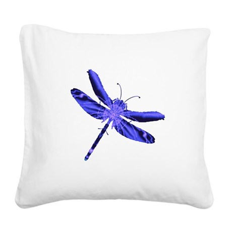 dragonfly4a.png Square Canvas Pillow