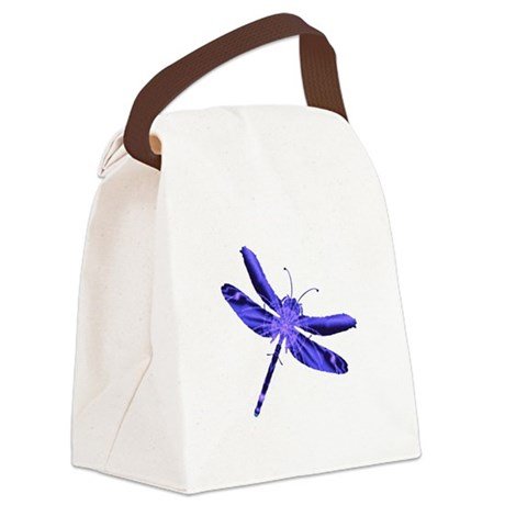 dragonfly4a.png Canvas Lunch Bag