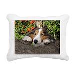 Squishy Face Rectangular Canvas Pillow