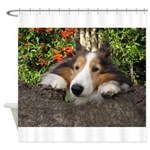 Squishy Face Shower Curtain