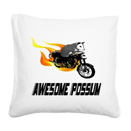 cycle2.png Square Canvas Pillow