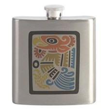 Mexican Aztec Eagle Flask