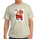 Circus Monkey Ash Grey T-Shirt