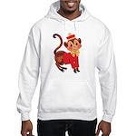 Circus Monkey Hooded Sweatshirt