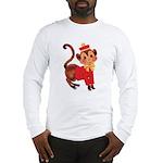 Circus Monkey Long Sleeve T-Shirt