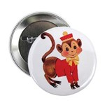 Circus Monkey Button