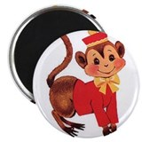 "Circus Monkey 2.25"" Magnet (100 pack)"