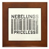 Nebelungs Priceless Framed Tile