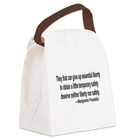 freedoms.png Canvas Lunch Bag