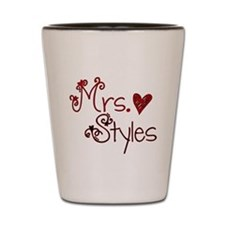 Mrs. Harry Styles Shot Glass