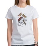 Moth Insects (Front) Women's T-Shirt